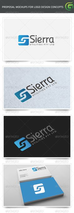 Sierra Plumbing Utilities Logo for sale just 29$