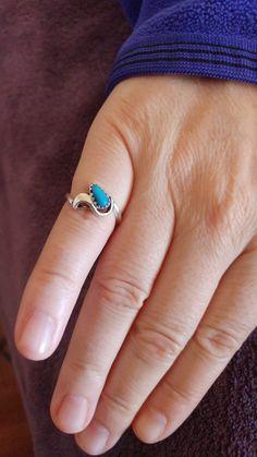 Morenci turquoise ring.