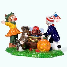 """Department 56: Products - """"Bobbing For Apples"""" - View Accessories"""