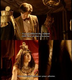 """Doctor Who """"The Pandorica Opens"""" (5x12) - The Doctor #MattSmith and River Song"""