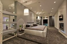 Im not a fan of carpet in the bedroom but I do like this!