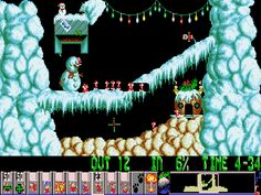 Lemmings Christmas
