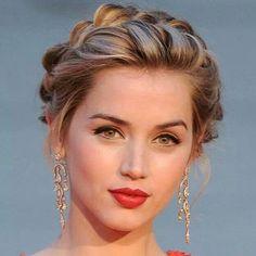 Resultado de imagen para peinados recogidos elegantes juveniles #hairstylesrecogido #peinadosartisticos
