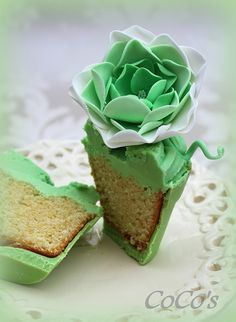 Coco's flower pot cupcake | Flickr - Photo Sharing!