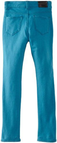 !it Jeans Girls 7-16 Ultra Skinny Jegging, Cyan, 14/16
