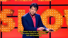 On parenting: | 21 Times Michael McIntyre Spoke The Absolute Truth