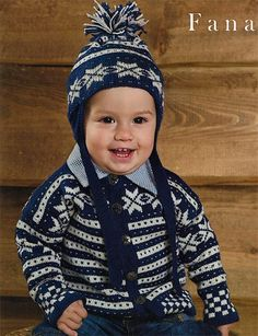 Dale of Norway Traditional Baby Pattern. - I'm dying here. Cuteness beyond words.
