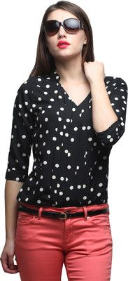 Faballey Polka Dots Women's Top