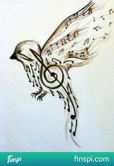 bird #tatuaż