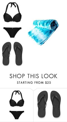 """""""swimming"""" by anniecarlone on Polyvore featuring Havaianas and Brika"""