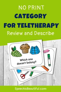 Speech Activities, Speech Therapy Activities, Speech Language Pathology, Language Activities, Vocabulary Activities, Speech And Language, Articulation Activities, Learning Activities, Play Therapy Techniques