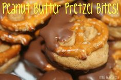 Onna Wanna Deal!: Peanut Butter Pretzel Bites!