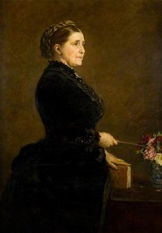 The Athenaeum - Mrs Isabella Elder (1828-1905) (Sir John Everett Millais - )
