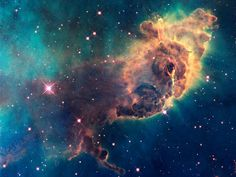 Jet in Carina Nebula