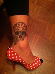 on my leg - by Deborah Soares