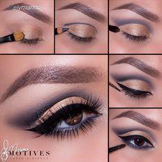 Fabulous cut crease tutorial byelymarinousing Motives!