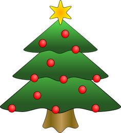 this nice christmas tree with presents clip art can be used for rh pinterest com