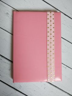 Обложка для паспорта ручной работы — Классика Розового