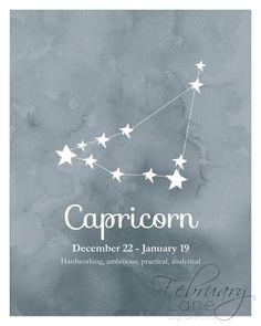 Capricorn Constellation Tattoo  Tattoos &amp Piercings Pinterest