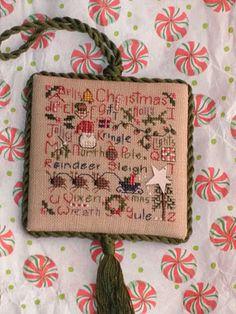 cross stitch Christmas- Shepherds Bush from JCS Magazine Special Xmas Ornament Issue )I think 2012)