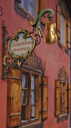 The Golden Violin | Mittenwald | Bavaria | Germany | Photo By Zoltán Vörös