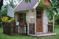 Little House/domek w ogrodzie,playhouse ideas