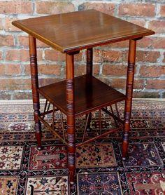 Antique Walnut Occasional Table By E.W. Godwin - Antiques Atlas
