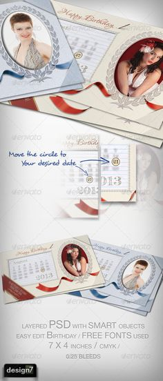 Template for Happy Birthday Greeting Card Birthdays, Happy - birthday greetings template