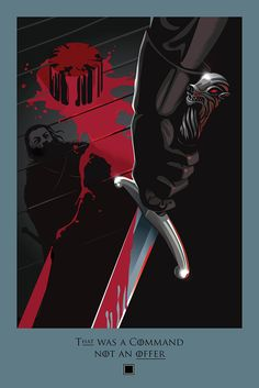 #BeautifulDeath from #GoT Season 5 × Episode 3. Check it out and view the entire collection at http://beautifuldeath.com/