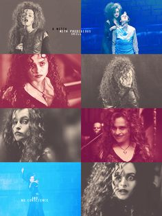 Bellatrix Lestrange. Terrifying, yet absolutely amazing