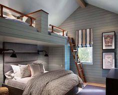 Modern-rustic retreat inspired by breathtaking Whitefish Lake surroundings