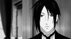 Sebastian. Black Butler. Kuroshitsuji #gif
