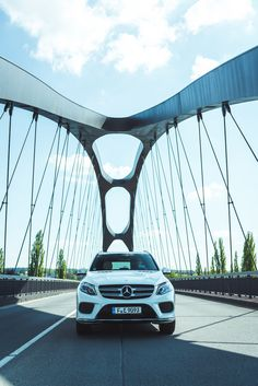 The Mercedes-Benz GLE on tour in Stockholm, Sweden. Special thanks to @Lufthansa. #WingsandWheels