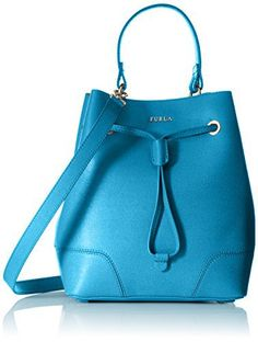 #furla #designer #handbags Furla Stacy Small Drawstring Convertible Top-Handle Bag