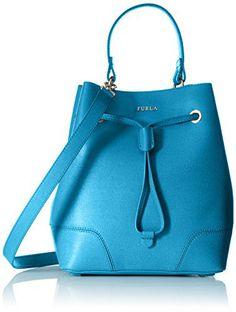 #furla #designer #handbags Furla Stacy Small Drawstring Convertible Top-Handle Bag