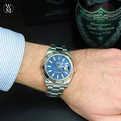 Rolex Datejust II. As great as the original Datejust only bigger. #wristshotwednesday #rolex