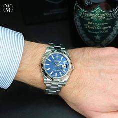Rolex Datejust II. As great as the original Datejust only bigger. #wristshotwednesday #rolex