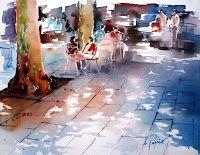Galleries Watercolours - Jean-Claude Papeix