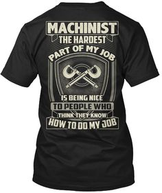 854d792f9f0c 31 Best Funny Machinist Tshirt images in 2019