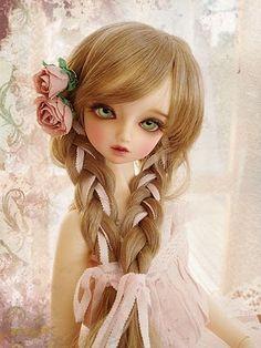 Encantos Artesanatos...: Boneca de Porcelana