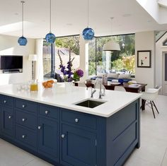 New Ideas Into Open Plan Kitchen Living Room Layout Never Before Revealed 00008 - homeknicknack Living Room And Kitchen Design, Open Plan Kitchen Living Room, Kitchen Family Rooms, Home Decor Kitchen, Interior Design Kitchen, New Kitchen, Open Plan Living, Kitchen Ideas, Kitchen Diner Extension