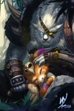 Gnar and Rengar!