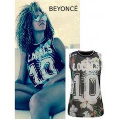 Camiseta Beyonce Online T296 Beyonce, E 10, Graphic Tank, Tank Tops, Women, Fashion, Supreme T Shirt, Spring Fashion, Hot Clothes