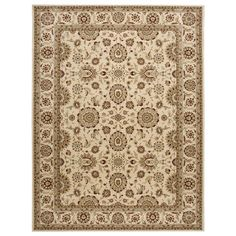 Nourison Persian Crown PC002 Ivory Rug