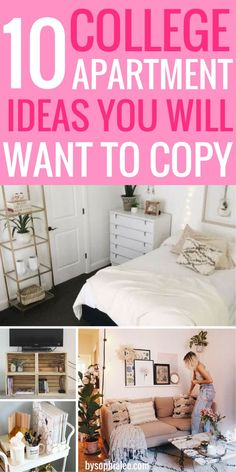 College Apartment Ideas You Will Want To Copy