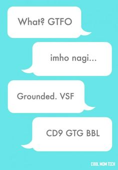 99 texting acronyms every parent should know