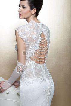 abito sposa schiena scoperta http://www.nozzemeravigliose.it/matrimonio/atelier-sposa/caserta/melania-pezzullo-couture/389