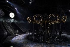 Marc Jacobs's Most Mind-Blowing Sets for Louis Vuitton: A better look at the set from Louis Vuitton's Spring 2014 show in Paris.