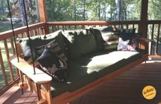 Porch Bed Swing: Relaxing Times Ahead : 19 Steps (with Pictures) - Instructables