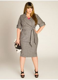 plus size woman's suits | handbag plus size business attire for energetic woman plus size ...